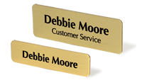 Bugle Name Badges