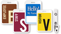 Preprinted Name Tags