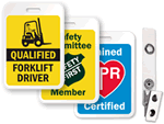Safety Badges