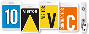 Visitor Name Badges