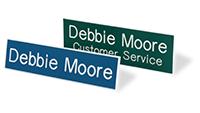 Custom Laser Engraved Name Badges