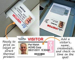 Printable Time-Expiring Badges