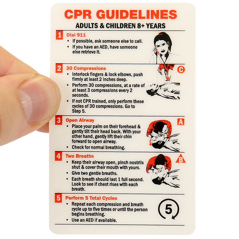 Cpr certification wallet card adults children 8 years for Badge buddy template