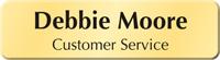 Customizable Bugle Name Badge