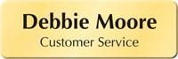 Create Own Bugle Name Badge