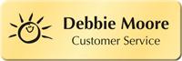 Customizable Cymbalic Logo Name Badge