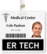 ER Tech Badge Buddy For Horizontal Identity Cards