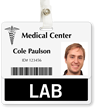 Lab Badge Buddy For Horizontal ID Cards