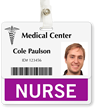 Nurse Badge Buddy For Horizontal ID Cards