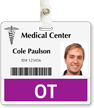 OT Badge Buddy For Horizontal Id Cards