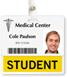 Student Badge Buddy For Horizontal ID Cards