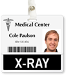 X Ray Badge Buddy For Horizontal ID Cards