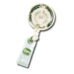 Badge Reel - LED Lighted - Clear