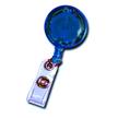 Badge Reel - LED Lighted - Blue