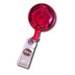 Badge Reel - LED Lighted - Red