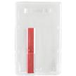 Vertical Plastic Ejector Card Holder