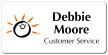 Screenedlogo Custom Name Badge