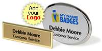 Digitally Printed Name Badges