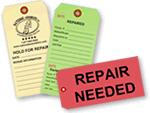 Custom Repair Tags