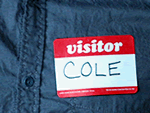 Visitor Name Tags