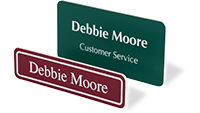Custom Laser Engraved Name Badges
