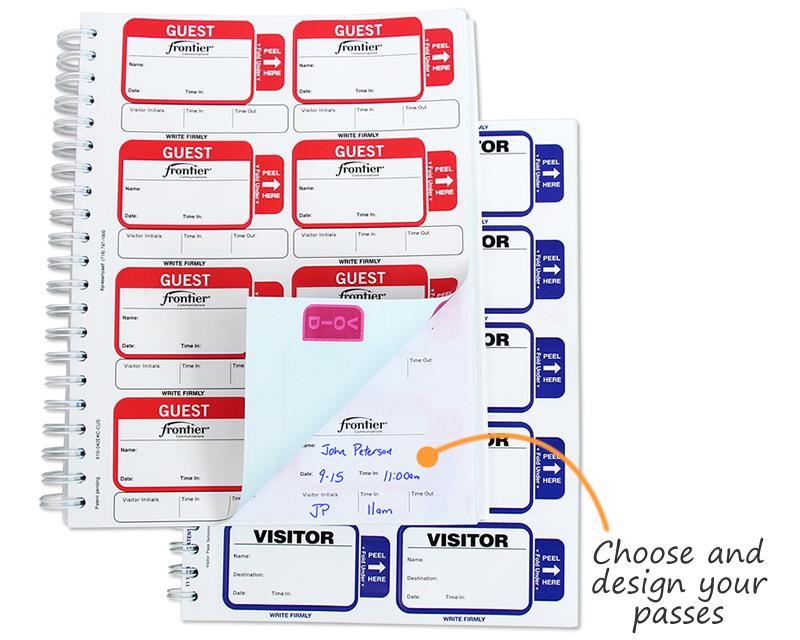 Time Expiring Id Cards Time Expiring Visitor Pass System