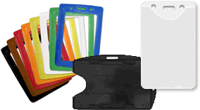 ID Badge and Prox Card Holders secure your Card in a protective sleeve.