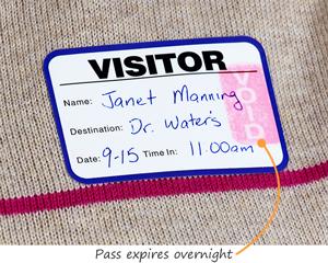 Time-Expiring ID Cards | Time-Expiring Visitor Pass System