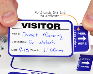 Time-Expiring ID Cards | Time-Expiring Visitor Pass System