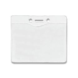badge buddy template - clear matte vinyl badge holder sku ez bd 0161