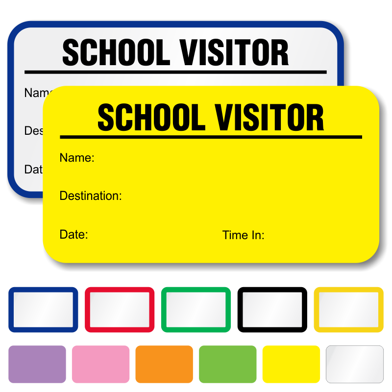 visitor book template