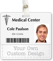 Custom Badge Buddy For Horizontal ID Cards