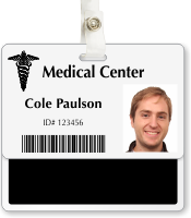 Medical Records Badge Buddy For Horizontal Id Cards
