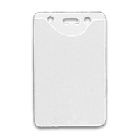 Badge Holder Vertical Top Load