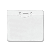 Badge Holder Horizontal, Top Load with Slot