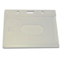 Horizontal Plastic Card Holder