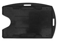 Dual Card Holder, Vertical/Horizontal - Black