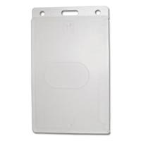 Vertical Plastic Card Holder