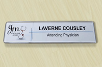 Contemporary Sign Kit Attaches To Wall/Door With Hook and Loop fastener