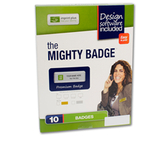 Mighty Name Badge Kit