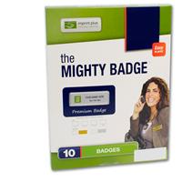 Mighty Badge Refill Kit