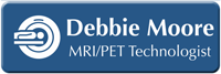 Customizable MRI / PET Technologist LaserLogo Name Badge