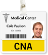 CNA Badge Buddy For Horizontal ID Cards