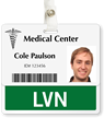 LVN Badge Buddy For Horizontal Identity Cards