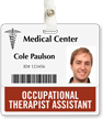 Occupational Therapist Assistant Horizontal Badge Buddy