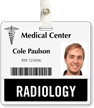 Radiology Badge Buddy For Horizontal Id Cards