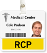 RCP Badge Buddy For Horizontal ID Cards