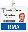 RMA Badge Buddy For Horizontal ID Cards