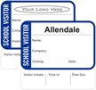 Create Own 1-Day School Visitor Pass
