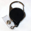 Badge Reel - No-Twist Carabiner - Black